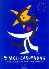EU affiche Europadag