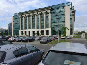 Gebouw bibliotheek Boekarest