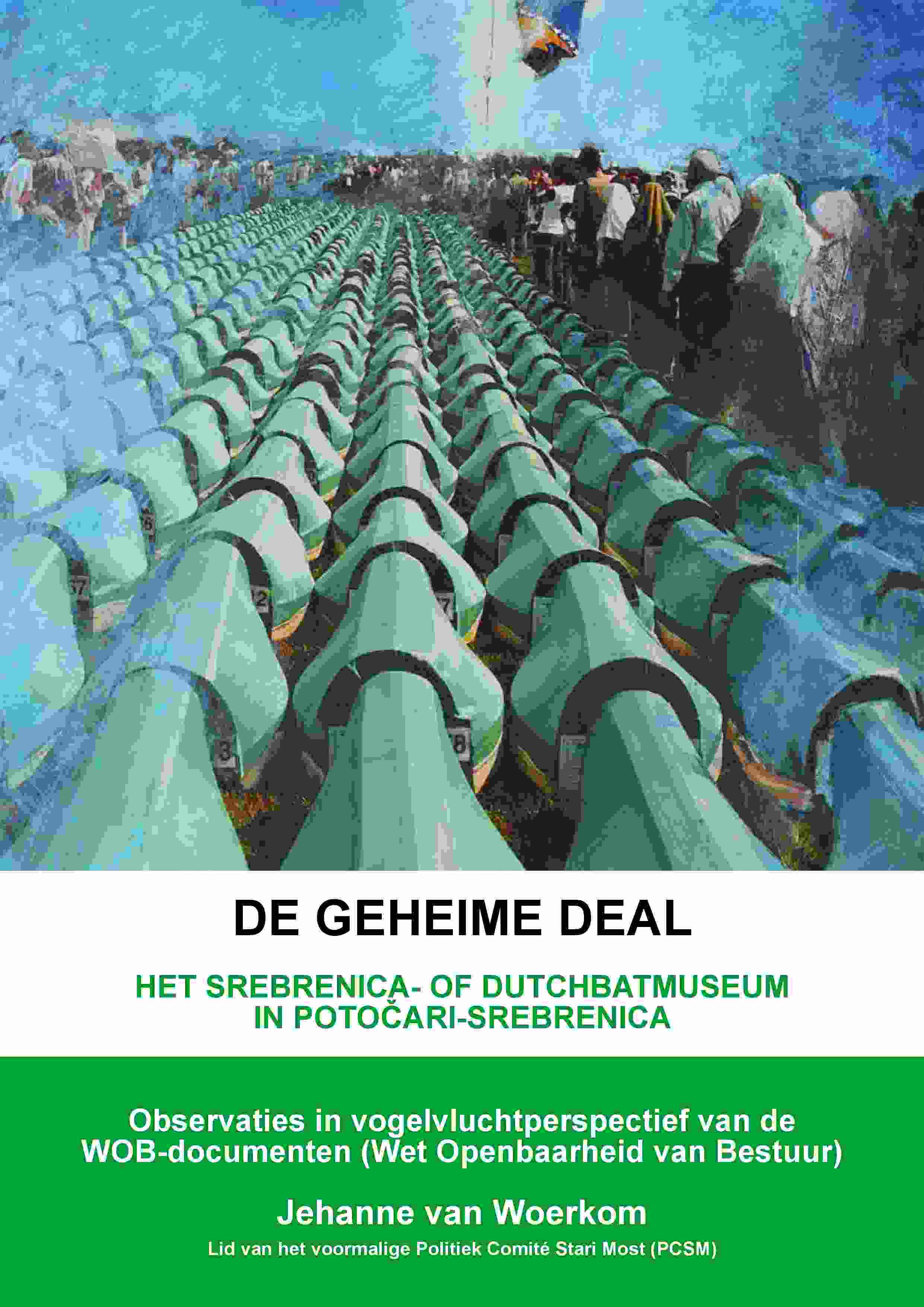 Voorpagina van het pamflet De Geheime Deal